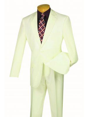 LUCCI Men/'s Burgundy 2 Button Slim Fit Poplin Polyester Suit NEW