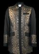 Menz Clergy Jacket in Black/Gold (MCJ5)