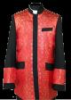 Menz Clergy Jacket in Black/Red (MCJ1)